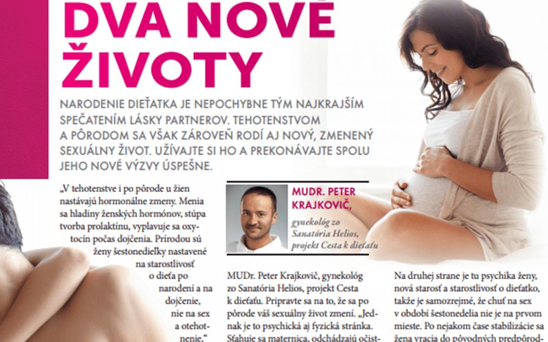 Dva nové životy – rozhovor s MUDr. P. Krajkovičom